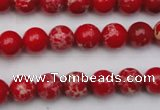 CDE2023 15.5 inches 6mm round dyed sea sediment jasper beads
