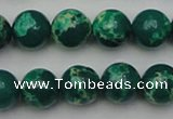 CDE2080 15.5 inches 10mm round dyed sea sediment jasper beads