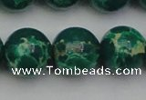 CDE2085 15.5 inches 20mm round dyed sea sediment jasper beads