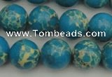 CDE2235 15.5 inches 12mm round dyed sea sediment jasper beads