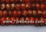 CDE2601 15.5 inches 7*10mm rondelle dyed sea sediment jasper beads