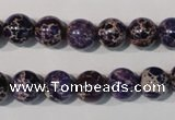 CDE696 15.5 inches 10mm round dyed sea sediment jasper beads