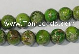 CDE921 15.5 inches 10mm round dyed sea sediment jasper beads