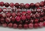 CDI02 16 inches 6mm round dyed imperial jasper beads wholesale