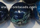 CDI224 15.5 inches 24mm round dyed imperial jasper beads