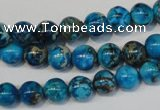 CDI266 15.5 inches 8mm round dyed imperial jasper beads