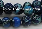 CDI45 16 inches 12mm round dyed imperial jasper beads wholesale