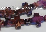 CDI450 15.5 inches 15*20mm cross dyed imperial jasper beads
