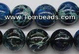 CDI47 16 inches 16mm round dyed imperial jasper beads wholesale