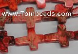 CDI566 15.5 inches 15*20mm cross dyed imperial jasper beads