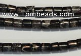 CDI670 15.5 inches 6*6mm tube dyed imperial jasper beads