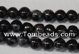 CDI681 15.5 inches 4mm round dyed imperial jasper beads