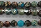 CDI802 15.5 inches 8mm round dyed imperial jasper beads wholesale