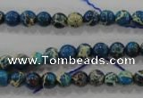 CDI811 15.5 inches 6mm round dyed imperial jasper beads wholesale