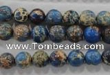 CDI813 15.5 inches 8mm round dyed imperial jasper beads wholesale