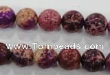 CDI833 15.5 inches 10mm round dyed imperial jasper beads wholesale