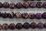 CDI842 15.5 inches 8mm round dyed imperial jasper beads wholesale