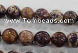 CDI844 15.5 inches 12mm round dyed imperial jasper beads wholesale