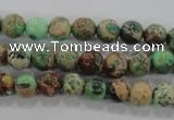 CDI851 15.5 inches 6mm round dyed imperial jasper beads wholesale