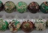 CDI855 15.5 inches 14mm round dyed imperial jasper beads wholesale