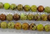 CDI862 15.5 inches 8mm round dyed imperial jasper beads wholesale