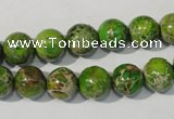 CDI921 15.5 inches 10mm round dyed imperial jasper beads