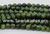 CDJ01 15.5 inches 6mm round Canadian jade beads wholesale