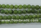 CDJ137 15.5 inches 4mm faceted round Canadian jade beads wholesale