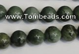 CDJ15 15.5 inches 12mm round Canadian jade beads wholesale