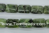 CDJ152 15.5 inches 10*14mm rectangle Canadian jade beads wholesale