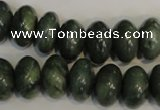 CDJ21 15.5 inches 10*16mm rondelle Canadian jade beads wholesale