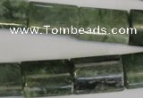 CDJ35 15.5 inches 15*20mm flat tube Canadian jade beads wholesale