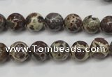 CDM04 15.5 inches 10mm round African dalmatian jasper beads