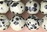 CDM93 15.5 inches 10mm round dalmatian jasper beads wholesale