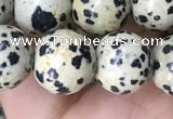 CDM94 15.5 inches 12mm round dalmatian jasper beads wholesale