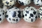 CDM95 15.5 inches 14mm round dalmatian jasper beads wholesale
