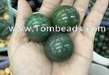 CDN17 30mm round pyrite gemstone decorations wholesale