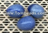 CDN321 30*40mm egg-shaped blue aventurine decorations wholesale