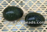 CDN354 35*50mm egg-shaped Canadian jade decorations wholesale