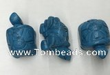 CDN436 28*45*22mm turtle imitation turquoise decorations wholesale