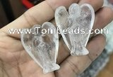 CDN470 30*40mm angel white crystal decorations wholesale