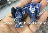 CDN481 30*40mm angel sodalite decorations wholesale
