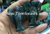 CDN500 35*50mm angel moss agate decorations wholesale
