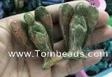 CDN503 35*50mm angel unakite decorations wholesale