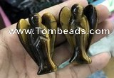 CDN504 35*50mm angel yellow tiger eye decorations wholesale