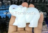 CDN512 33*65*45mm elephant opal decorations wholesale