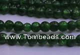 CDQ01 15.5 inches 3mm round A- grade diopside gemstone beads