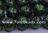 CDQ04 15.5 inches 8mm round A- grade diopside gemstone beads