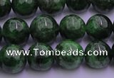 CDQ51 15.5 inches 6mm round A grade diopside gemstone beads