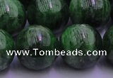 CDQ56 15.5 inches 12mm round A grade diopside gemstone beads